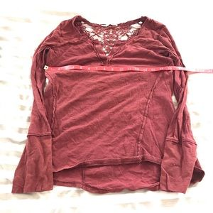 Maurice's top with lacy back detail